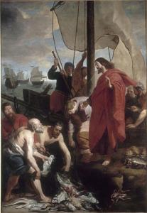 The Miraculous Catch of Fish by Gaspar de Crayer