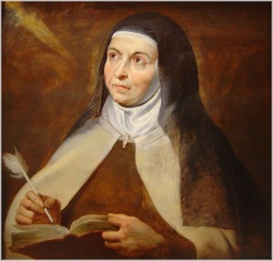 St Teresa of Avila, Doctor of the Church