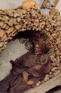 From the Capuchin Crypt in Rome