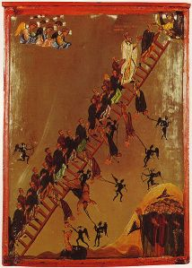 The Ladder of Divine Ascent, based on the writings of St John Climacus