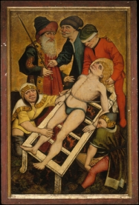 """St Laurence, who joked """"turn me over, I'm done on this side"""" while being burned"""