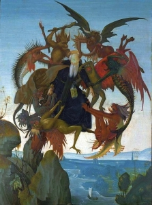 The temptation of St Anthony the Abbot