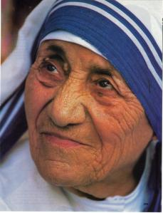 Blessed Teresa of Calcutta, who suffered spiritual desolation for most of her life