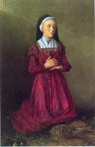 Blessed Margaret Ball, one of the Irish martyrs whose feast we remember today