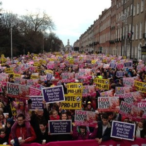 Vigil for Life, Dublin January 19 2013