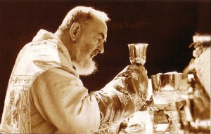 padre pio at Mass 2