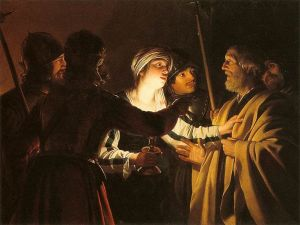 799px-Gerard_van_Honthorst_-_The_Denial_of_St_Peter_-_WGA11661